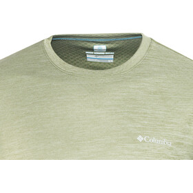 Columbia M's Zero Rules SS Shirt mosstone